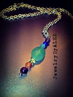 Chakra necklace  on Etsy, $25.00
