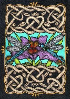 celtic-dragonflies