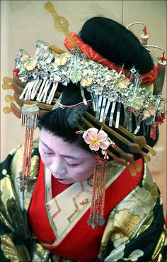Too much? ;)    T A Y U U    Since medieval times Japan has always had some form of pleasure quarter offering various forms of entertainment, including, of course, the erotic. However, it was during the Edo period's sakoku (1639-1854) when Japan cut off all ties with the outside world, that Japanese culture, as it is known today, flourished.