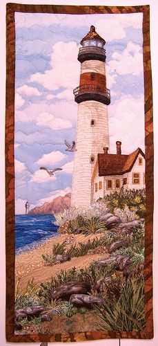 light house quilt