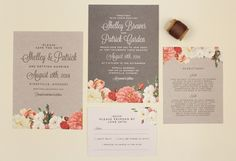 Free Love vs Design invitations, save the dates and more…
