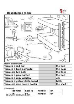 Describing a room