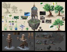 ., Mengsha Zhao on ArtStation at https://www.artstation.com/artwork/-65e351c9-1a4c-41c6-ad3e-e70194f222b4
