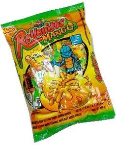 Mango Flavor Lollipop Mexican Candies