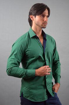 """""""Like"""" this Via Uomo men's shirt? Find this Via Uomo shirt at www.FashionMenswear.com and www.GiovanniMarquez.com #mensshirt #menswear #mensfashion #menstyle #fashion #fashionmenswear #viauomo"""