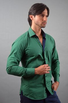 """Like"" this Via Uomo men's shirt? Find this Via Uomo shirt at www.FashionMenswear.com and www.GiovanniMarquez.com #mensshirt #menswear #mensfashion #menstyle #fashion #fashionmenswear #viauomo"