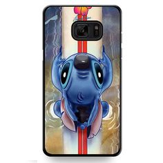 Waiting For The Perfect Wave Lilo And Stitch Disney TATUM-11779 Samsung Phonecase Cover For Samsung Galaxy Note 7