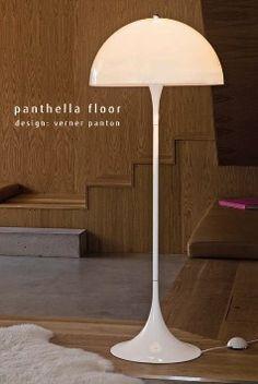 Panthella floor lamp, by Verner Panton (manifactured by Louis Poulsen)