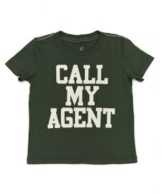 Baby Call My Agent Tee - Baby Boys - Shop - sale | Peek Kids Clothing