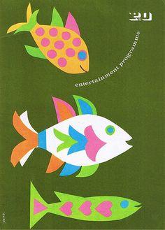 p& o entertainment program by dorit dekk (1967)
