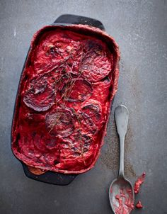Bill Granger recipe: Beetroot and potato gratin