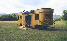 Total cool ! Energieautark wohnen: Dieses Haus auf Rädern macht's möglich