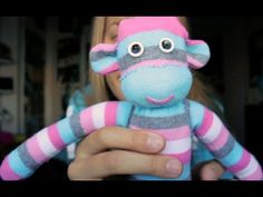CUTE PROJECT TO DO WITH THE KIDS!! ☆ HOW TO MAKE A SOCK MONKEY - PART 2 ☆