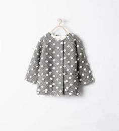TWO - TONE COMBINATION COAT - Cardigans and Sweaters - Girl (3 - 14 years) - KIDS | ZARA United States