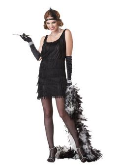 1920 Flapper Style- Halloween Costumes for Teen Girls