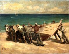 Βάσος Γερμενής 'Το ρίξιμο της βάρκας'