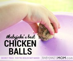 #babyjake's Best Chicken Balls (The Secret: They're boiled not baked)