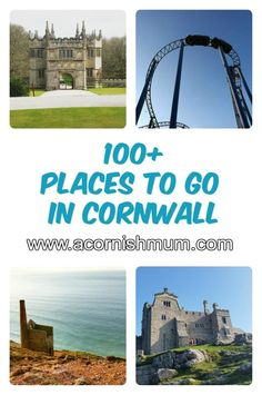 Over 100 Things to do and Places to go in Cornwall UK. Perfect for planning your holiday in Cornwall or for finding things to do in the school holidays in Cornwall. Gardens , theme parks, swimming pools and more. Truro Cornwall, Penzance Cornwall, Devon And Cornwall, Days Out With Kids, Family Days Out, Things To Do In Cornwall, Santa Cruz Camping, Camping Cornwall, Oxford England