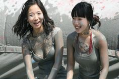 Getting Down and Dirty at the Boryeong Mud Festival 2012, South Korea