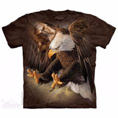 The Mountain Unisex Erwachsen Freedom Adler Vogel T Shirt Eagle Design, 3d T Shirts, Unisex, Cool Tees, Classic T Shirts, Collage, Products, Men Fashion, Funny Fashion