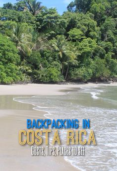 A week of budget backpacking in Costa Rica