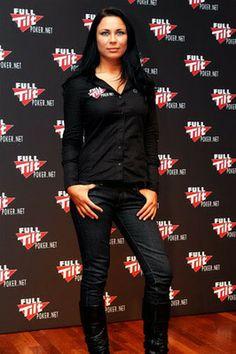 Sandra Naujoks female poker player  http://www.casinomegamall.com/