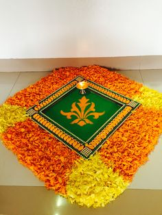 My art Easy Rangoli Designs Diwali, Rangoli Simple, Rangoli Designs Latest, Simple Rangoli Designs Images, Rangoli Designs Flower, Small Rangoli Design, Colorful Rangoli Designs, Rangoli Ideas, Diwali Rangoli