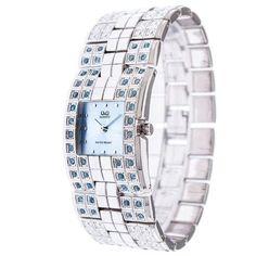 Ρολόγια : Ρολόι Q&Q Γυναικείο Silver Bracelet - QQ2001SR Bracelet Watch, Jewels, Watches, Bracelets, Silver, Accessories, Shopping, Jewerly, Wristwatches