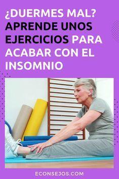10 Ejercicios Que Te Ayudarán A Conciliar El Sueño Ejercicios Para Dormir Que Hago Para Dormir Ejercicios
