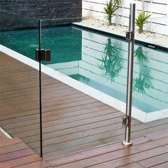 Highgrove 1200 x 900 x 10mm Semi Frameless Glass Gate Panel