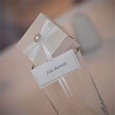 Elegant Wedding Favours