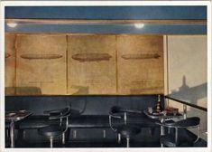 Pressurized Smoking Room aboard LZ-129 Hindenburg