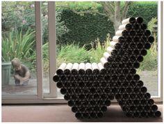 Reciclando tubos! Totally tubular.......