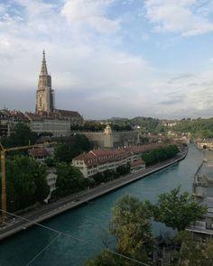 #bern #schweiz #swiss #switzerland #aare #river #münster #church #sommer #summer #city #suisse #sightseeing #landscape #bärn #feelings Land Scape, 21st, Charmed, Instagram Posts, Places, Summer