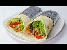 Shaorma de pui reteta video | JamilaCuisine Beef Recipes, Chicken Recipes, Cooking Recipes, Shawarma Recipe Beef, Schawarma Rezept, Tacos And Burritos, Romanian Food, 30 Minute Meals, Middle Eastern Recipes