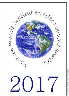 Cette carte vous plait ? Profitez-en tant qu'il est encore temps de souhaiter une bonne année 2017 à vos amis avec une jolie #carte envoyée par La Poste en quelques clics ! #voeux #BonneAnnée #voeux2017 #amour #love #paix #peace #paz  Carte Pour un monde meilleur pour envoyer par La Poste, sur Merci-Facteur !