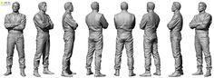 Male Racing Driver Bundle