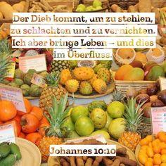 #genug #mehralsgenug #überfluss #reichtum #satt #fülle #leben #versprechen #versorgung #gott #jesus #heiligerGeist #bibel #bibelvers #johannes #hoffnung #glaube #liebe #stewi Johannes, Instagram, Holy Spirit, Life