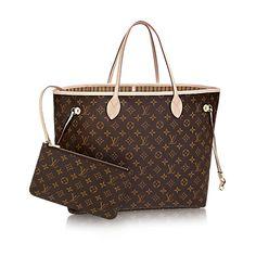 Neverfull GM - Monogram Canvas - Handbags   LOUIS VUITTON