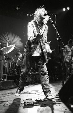 Kurt Cobain by Kevin Mazur