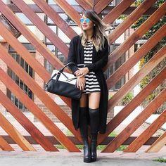 Un Outfit perfecto para empezar el fin de semana, nuestra Youtuber Jey Castañeda con sus Botas Upton se ve siempre ¡divina!  #LifeStyleSNTR #botasaltas #botasSNTR #fashionblogger #outfitoftheday  www.santorini.com.co Punk, Lifestyle, Chic, Santorini, My Style, Outfits, Fashion, Tall Boots, Shabby Chic