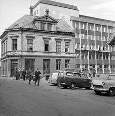 Damsgårdsalm 1. Det gamle og det nye kommunehus. Fra marcus.uib.no