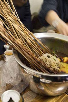 Chengdu traditional food: Chuan Chuan