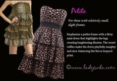I so like this animal prints dresses.