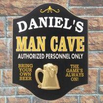 Get him a Man Cave sign
