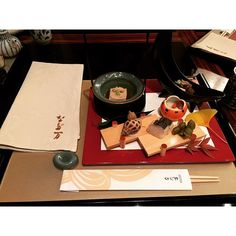 #なだ万 #nadaman #kaiseki #shangrila  Very nice Japanese Kaiseki  by andisenlau