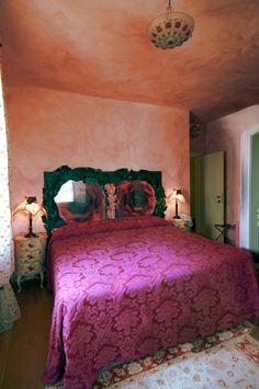 "Relais Villa Roncuzzi, Ravenna (Italy), the little ""roses bedroom"""