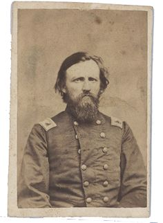"Col H.C.Heg 15th Wisconsin ""Scandinavian"" regiment (1829-1863) Mortally wounded while commanding his Heg`s Brigade (3rd Brigade, 1st Div., 20th Corps) at Chickamauga, Georgia september 19th 1863."