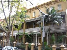 Terrace Houses in Victoria St, Potts Point, Sydney