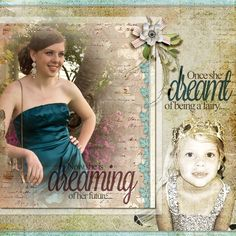 Ideas for Mixing Old and New Photographs on a Scrapbook Page | Andrea | Get It Scrapped